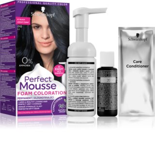 Schwarzkopf Perfect Mousse tinte permanente para cabello