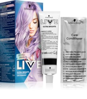 Schwarzkopf LIVE Ultra Brights or Pastel Hair Color