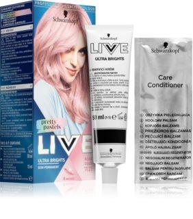 Schwarzkopf LIVE Ultra Brights or Pastel ημι-μόνιμη βαφή μαλλιών