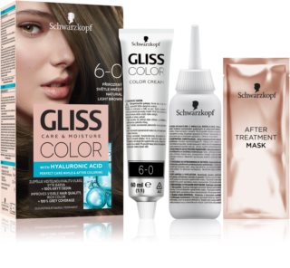 Schwarzkopf Gliss Color боя за коса