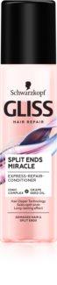 Schwarzkopf Gliss Split Ends Miracle Conditioner ohne Ausspülen für fusselige Haarspitzen
