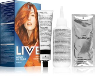 Schwarzkopf LIVE Intense Gel Colour coloration cheveux permanente
