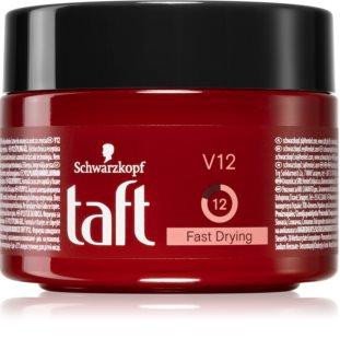 Schwarzkopf Taft V12 швидковисихаюча глазурь для укладання волосся з гелевою текстурою