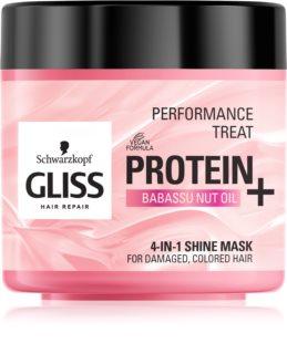 Schwarzkopf Gliss Protein+ masca iluminatoare pentru par vopsit si deteriorat