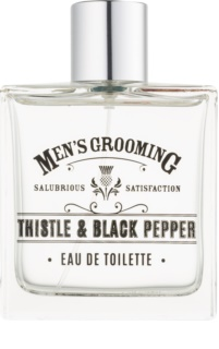 Scottish Fine Soaps Men's Grooming Thistle & Black Pepper Eau de Toilette per uomo