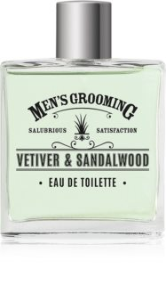 Scottish Fine Soaps Men's Grooming Vetiver & Sandalwood Eau de Toilette per uomo
