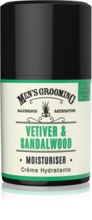 Scottish Fine Soaps Men's Grooming Vetiver & Sandalwood crema idratante viso per uomo