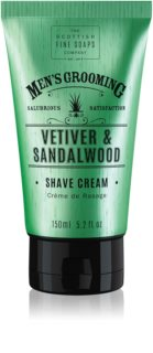Scottish Fine Soaps Men's Grooming Vetiver & Sandalwood Rasiercreme für Herren