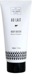 Scottish Fine Soaps Au Lait Body Butter In Tube