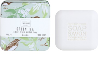 Scottish Fine Soaps Green Tea luksuzni sapun u metalnoj kutiji