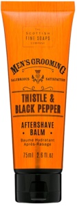 Scottish Fine Soaps Men's Grooming Thistle & Black Pepper baume après-rasage