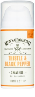 Scottish Fine Soaps Men's Grooming Thistle & Black Pepper Barbergel