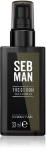 Sebastian Professional SEB MAN The Groom olio districante per barba