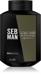 Sebastian Professional SEB MAN The Multi-tasker Shampoo for Hair, Beard and Body