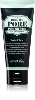 Secret Key Black Out Pore masque peel-off contre les points noirs au charbon actif
