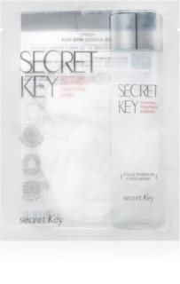 Secret Key Starting Treatment Galactomyces Kirkastava ja Kosteuttava Kangasnaamio