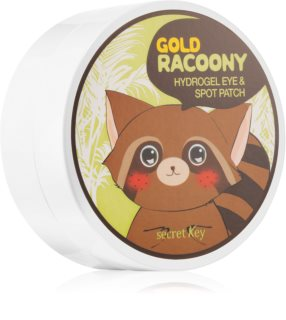 Secret Key Racoony Gold masque hydrogel contour des yeux à l'or