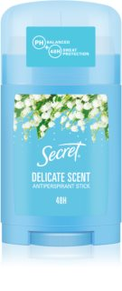 Secret Delicate antitranspirante en barra