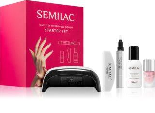 Semilac Paris One Step Hybrid Starter Set Täydellinen Manikyyrisarja