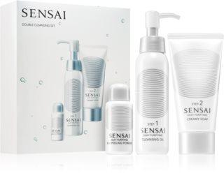 Sensai Silky Purifying Double Cleansing Set dárková sada (pro dokonalé vyčištění pleti)