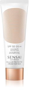 Sensai Silky Bronze крем за загар против бръчки SPF 50