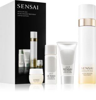 Sensai Absolute Silk Micro Mousse Treatment Gift Set  (voor Vrouwen )