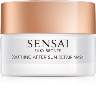 Sensai Silky Bronze masca calmanta si hidratanta dupa expunerea la soare