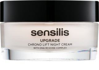 Sensilis Upgrade Chrono Lift Lifting-Nachtcreme zur Definition der Gesichtskonturen