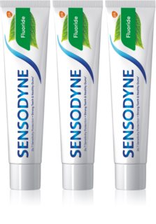 Sensodyne Fluoride Toothpaste For Sensitive Teeth