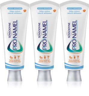 Sensodyne Pro-Namel Whitening dentifrice blanchissant pour dents sensibles
