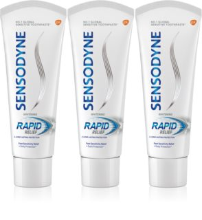 Sensodyne Rapid Whitening Blegende tandpasta Til sensitive tænder