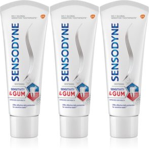 Sensodyne Sensitivity & Gum Whitening dentifrice blanchissant protection dents et gencives