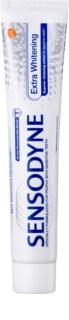 Sensodyne Extra Whitening bleichende Zahnpasta mit Fluor für empfindliche Zähne