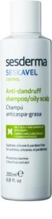 Sesderma Seskavel Control šampón proti lupinám pre mastnú pokožku hlavy
