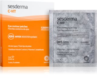 Sesderma C-Vit AX+ Revitalising Patches to Brighten Tired Eyes