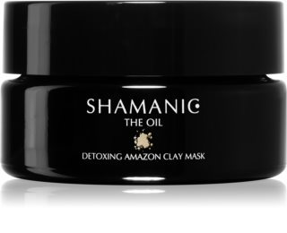 Shamanic The Oil Detoxing Amazon Clay Mask Cleansing Clay Face Mask