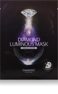 Shangpree Diamond Brightening Face Sheet Mask with Anti-Wrinkle Effect