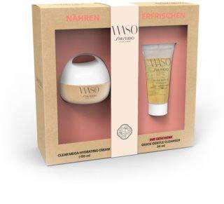 Shiseido Waso Clear Mega Hydrating Cream kozmetická sada I. pre ženy