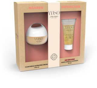 Shiseido Waso Clear Mega Hydrating Cream kosmetická sada I. pro ženy