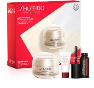 Shiseido Benefiance Wrinkle Smoothing Eye Cream coffret cadeau V. pour femme