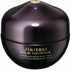 Shiseido Future Solution LX Total Regenerating Body Cream crema  corporal reafirmante para dejar la piel suave y lisa