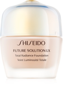 Shiseido Future Solution LX Total Radiance Foundation fiatalító make-up SPF 15