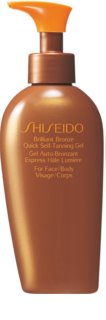 Shiseido Sun Care Self-Tanning Self Tan Gel for Body and Face