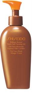 Shiseido Sun Care Self-Tanning gel autoabbronzante per corpo e viso