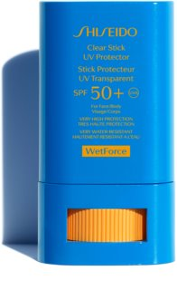 Shiseido Sun Care Clear Stick UV Protector WetForce napozó krém stift SPF 50+