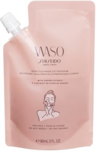 Shiseido Waso Reset Cleanser City Blossom Gel Facial Cleanser with Exfoliating Effect