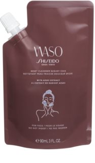 Shiseido Waso Reset Cleanser Sugary Chic Gel Facial Cleanser with Exfoliating Effect