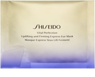 Shiseido Vital Perfection Uplifting & Firming Express Eye Mask mascarilla reafirmante con efecto lifting para contorno de ojos