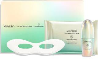 Shiseido Future Solution LX Legendary Enmei Ultimate Luminance Serum Gavesæt  med anti-aldringseffekt