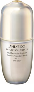 Shiseido Future Solution LX Total Protective Emulsion защитна дневна емулсия SPF 15